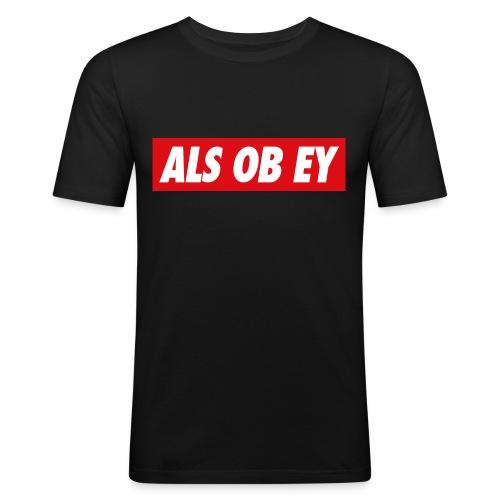 ALS OB EY - Männer Slim Fit T-Shirt