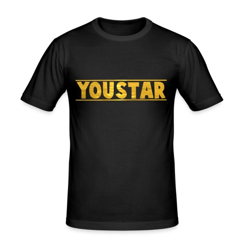 Golden Youstar Merch - Men's Slim Fit T-Shirt