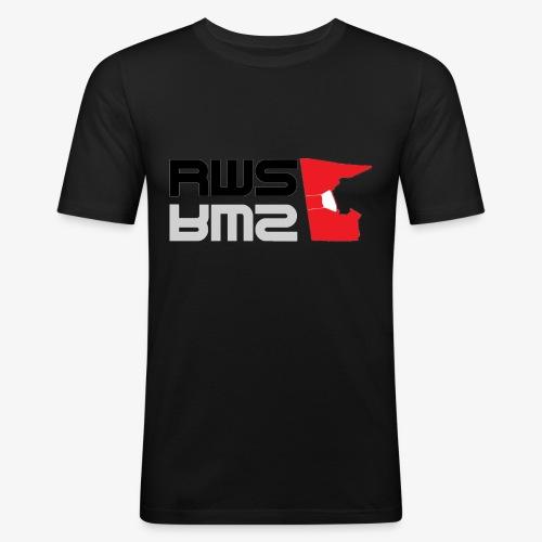 RWS logga - Slim Fit T-shirt herr