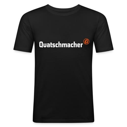 QB Spreadshirt Vektoren 2c 1 - Männer Slim Fit T-Shirt