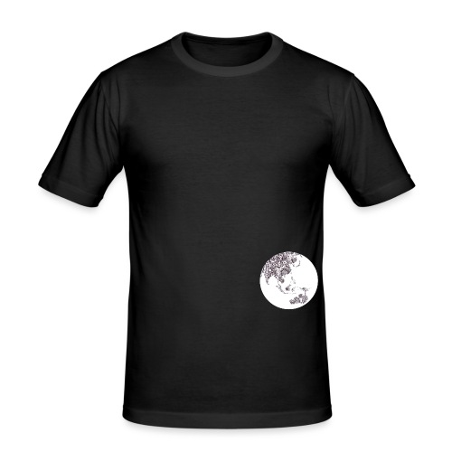 different world - T-shirt près du corps Homme