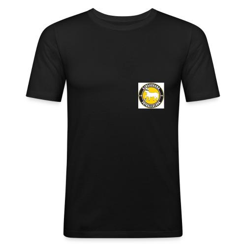sjsaugana logoen - Slim Fit T-skjorte for menn