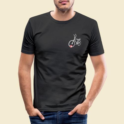 Radball | Cycle Ball Polo white - Männer Slim Fit T-Shirt