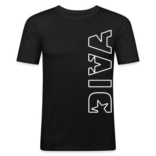 DIVA 06 - Männer Slim Fit T-Shirt