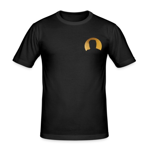 logo special - Mannen slim fit T-shirt