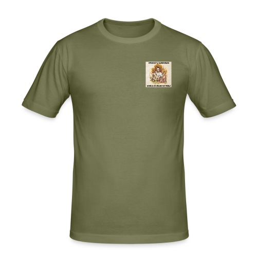 Scientist Dubiterian - Men's Slim Fit T-Shirt