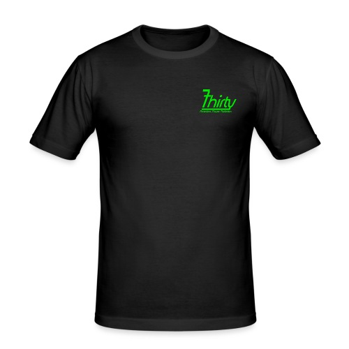 7Thirty Green - Men's Slim Fit T-Shirt