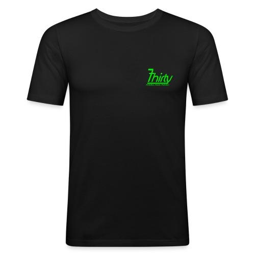 7Thirty Green - Men's Slim Fit T-Shirt