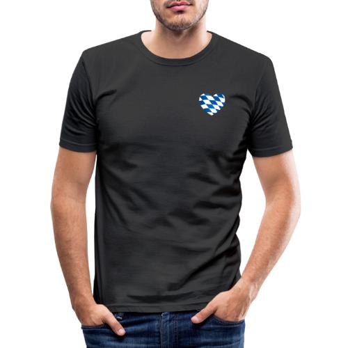 Bavarian Connection - Männer Slim Fit T-Shirt