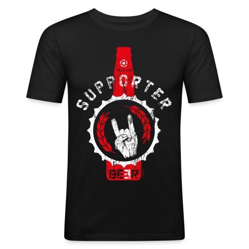 SUPPORTER | BEER - Männer Slim Fit T-Shirt
