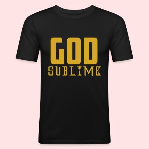 GOD SUBLIME - Camiseta ajustada hombre