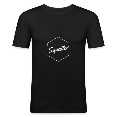 SquatterNew - Männer Slim Fit T-Shirt