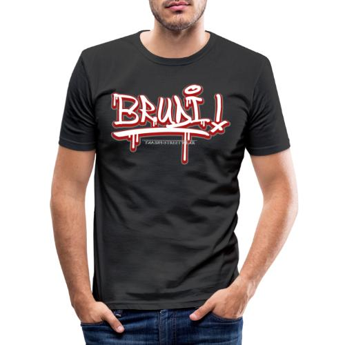 Brudi - Männer Slim Fit T-Shirt
