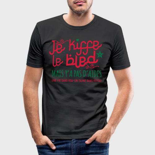 Je kiffe le bled - T-shirt près du corps Homme