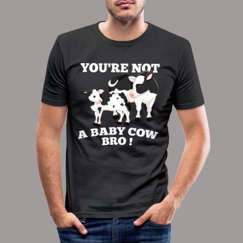 Bro png - Mannen slim fit T-shirt