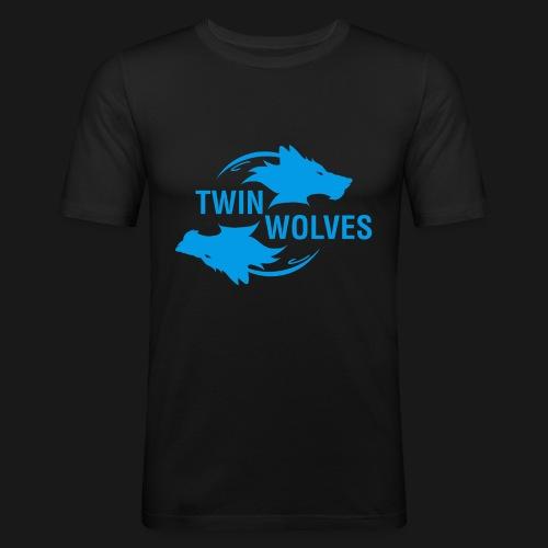 Twin Wolves Studio - Maglietta aderente da uomo
