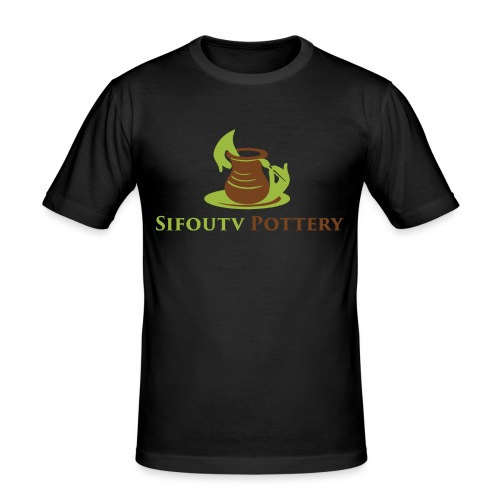 Sifoutv Pottery - Men's Slim Fit T-Shirt