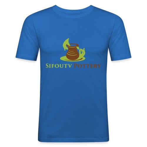 Sifoutv Pottery - Men's Slim Fit T-Shirt