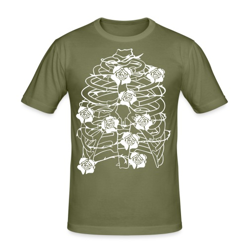 Inhale - Männer Slim Fit T-Shirt