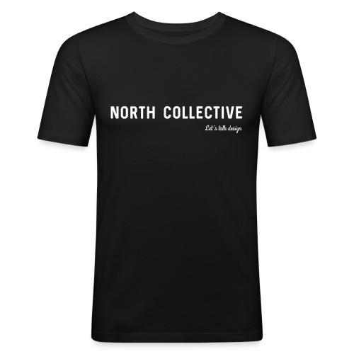 North Collective - Mannen slim fit T-shirt