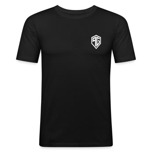 PG-LOGO-T - Männer Slim Fit T-Shirt