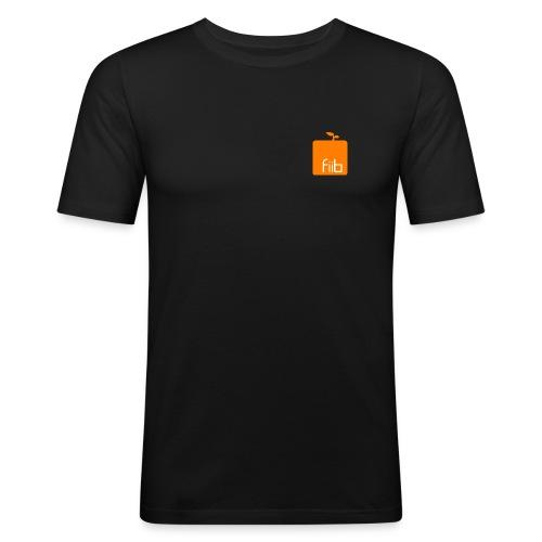 fiib it logo Sanduhr png - Männer Slim Fit T-Shirt
