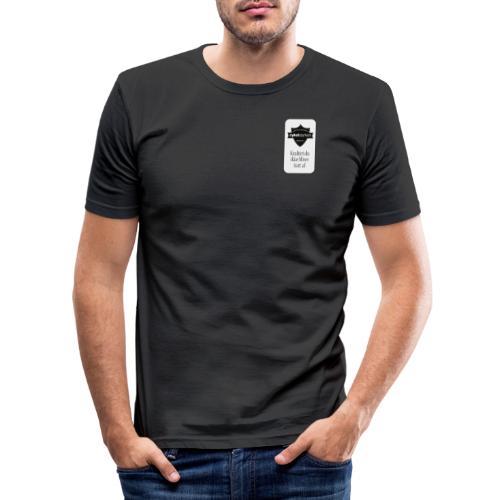 Logo horisental - Herre Slim Fit T-Shirt