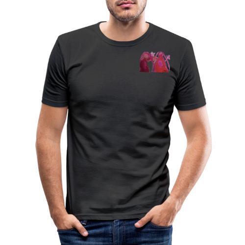 besteFreundinnen1 - Männer Slim Fit T-Shirt