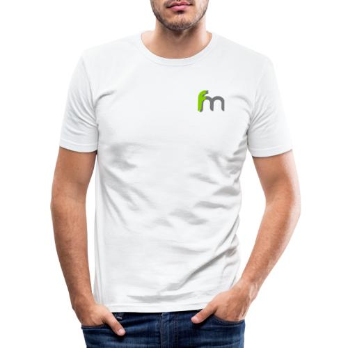 Logo ffm ohne Kreis - Männer Slim Fit T-Shirt