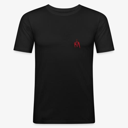 KA_Logo_rot - Männer Slim Fit T-Shirt