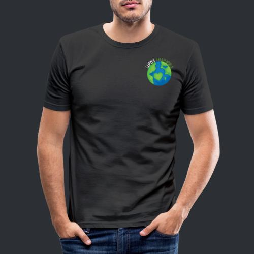 Slippy's Dream World Small - Men's Slim Fit T-Shirt
