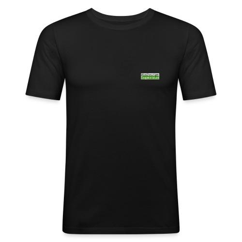 talkmaster logo - Männer Slim Fit T-Shirt
