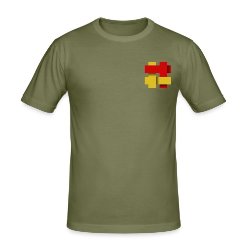 The Kilted Coaches LOGO - Men's Slim Fit T-Shirt