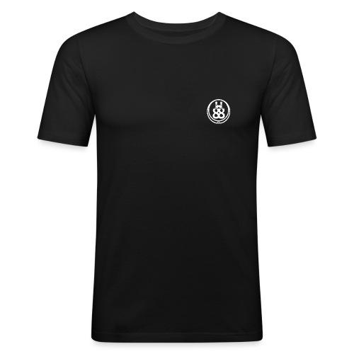 castle88 logo white png - Men's Slim Fit T-Shirt