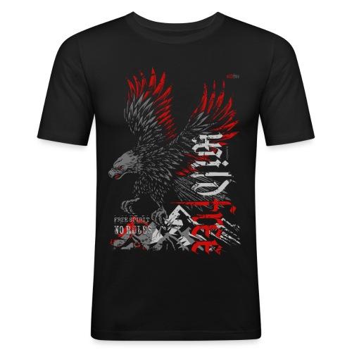 WILDFREE | EAGLE - Männer Slim Fit T-Shirt