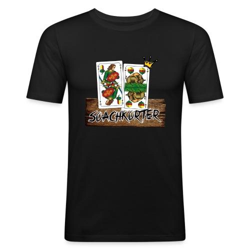 Soarchkorter png - Männer Slim Fit T-Shirt