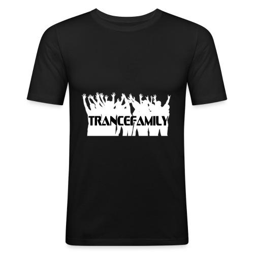 trancefamily - Slim Fit T-shirt herr