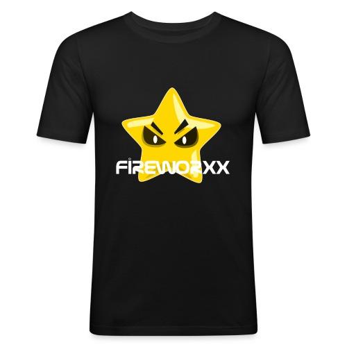 Fireworxx - Männer Slim Fit T-Shirt