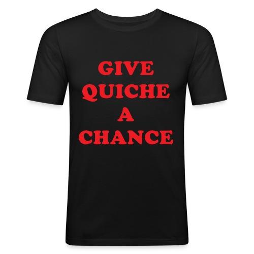 quiche - Men's Slim Fit T-Shirt