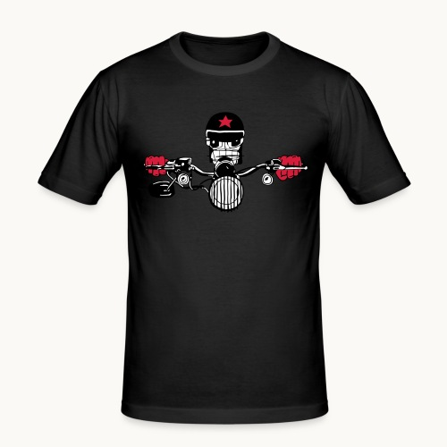 Motard Micky on the Road - T-shirt près du corps Homme