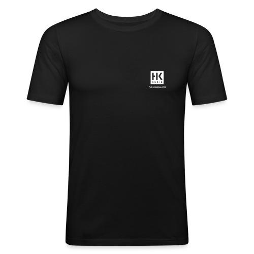 HK_Audio_Logo_Soundmakers - Männer Slim Fit T-Shirt