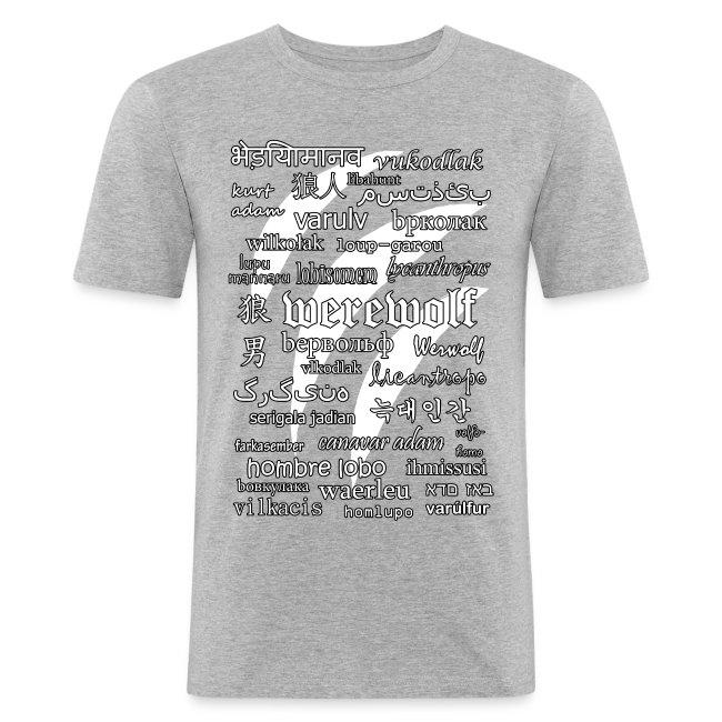 Werewolf in 33 Languages (Black Ver.)