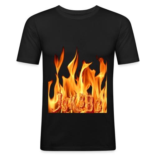 jekebe vuur - Mannen slim fit T-shirt
