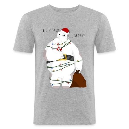 Merry Baymax - Maglietta aderente da uomo