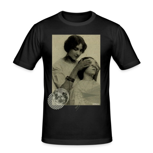 Lune aveugle - T-shirt près du corps Homme