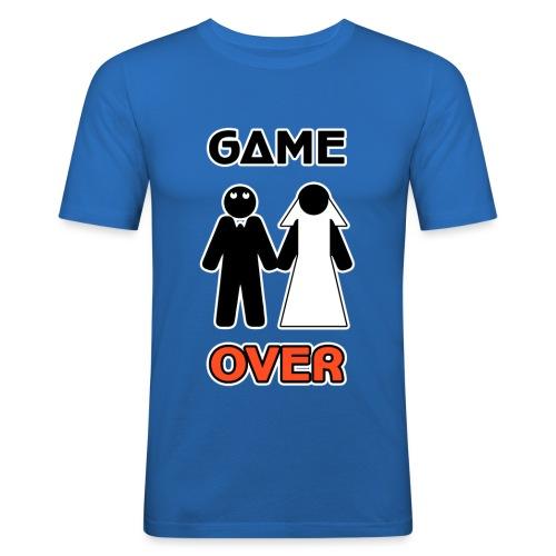 Addio al Celibato - Game Over - Maglietta aderente da uomo