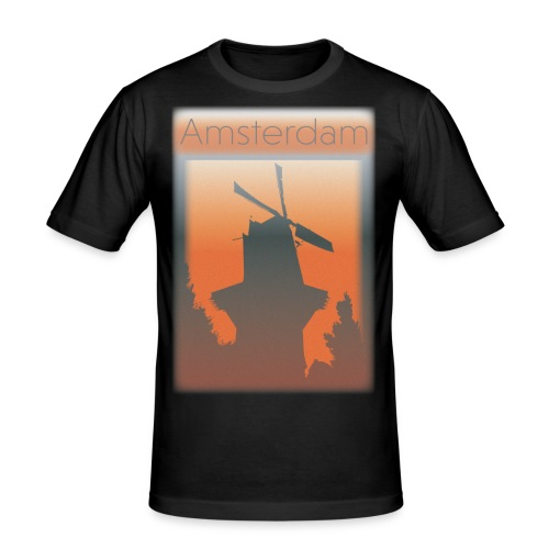 Amsterdam - Men's Slim Fit T-Shirt
