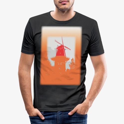 Mills orange - Maglietta aderente da uomo