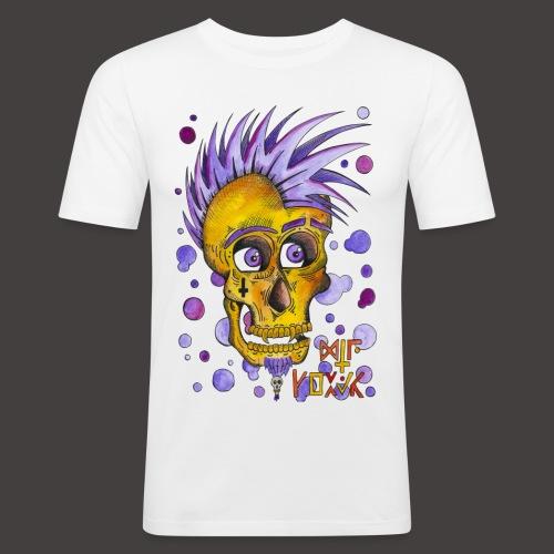 Autoportrait - T-shirt près du corps Homme