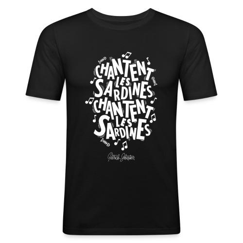 Les Sardines - T-shirt près du corps Homme